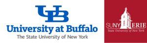 University at Buffalo and SUNY Erie logos
