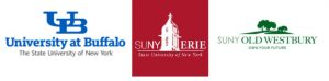 UB, SUNY Erie, SUNY Old Westbury logos
