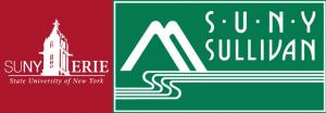 SUNY Erie and SUNY Sullivan logos