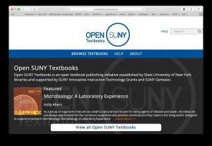 SUNY textbooks