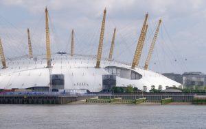 The Millennium Dome.